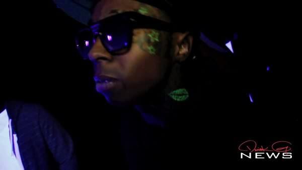 Lil Wayne Black Light Tattoos