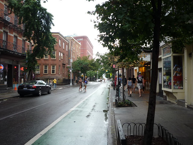 Christopher Street, near Bedford St, West Village