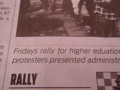 Fridays rally