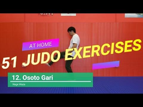 51 exercícios do Judô