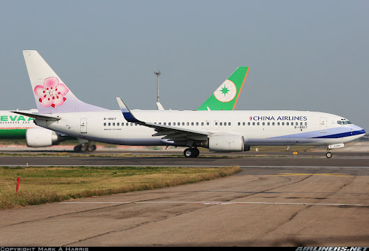 Aviation Blogs -China Airlines Boeing 737-800 at TPE. -