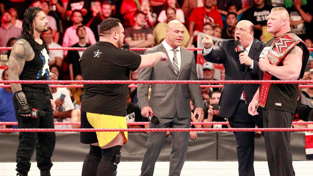 Heyman é inflexível que Joe nunca mais será permitido desafiar Brock ...