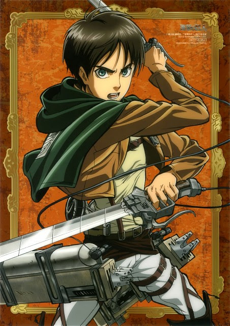 Eren Yeager Wallpaper And Scan Gallery Minitokyo
