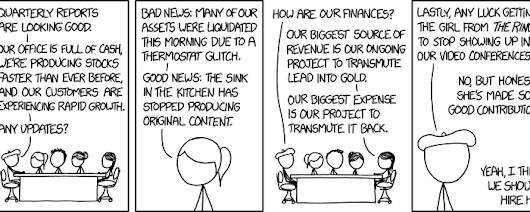 xkcd: Business Update
