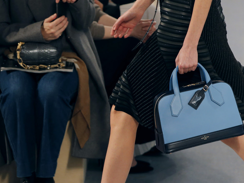One of the handbags many will be saving for this September (Picture: Stephane Mahe/Reuters)
