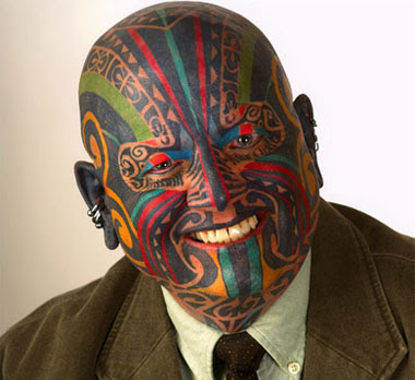 The world is a strange but amazing place » tattoo-face