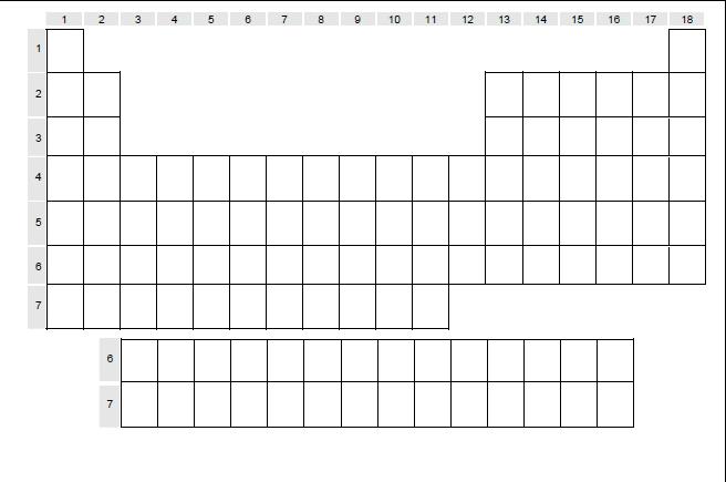 tabla periodica xls descargar images periodic table and sample tabla periodica elementos quimicos xls image collections - Tabla Periodica De Los Elementos Quimicos Xls