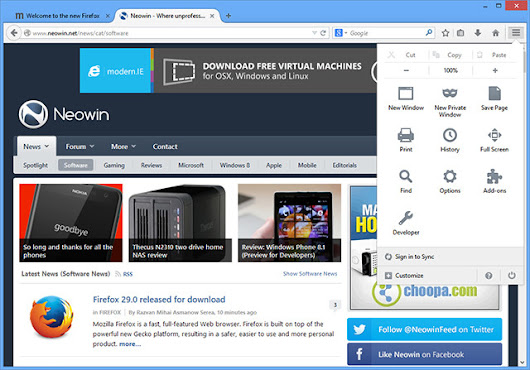 Firefox 29.0 released for download - Neowin