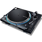 Denon DJ VL12 Prime Professional Direct Drive High Torque Turntable with LED Platter