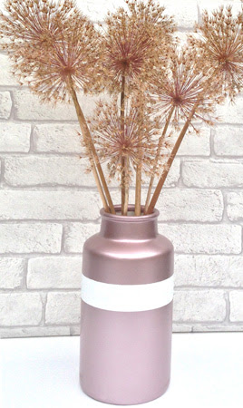 How To Create A Rose Gold Vase And Frame With Plastikote Spray