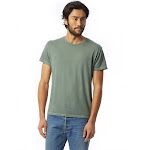 Alternative - Heritage Garment Dyed Distressed T-Shirt - 4850, Green Pigment