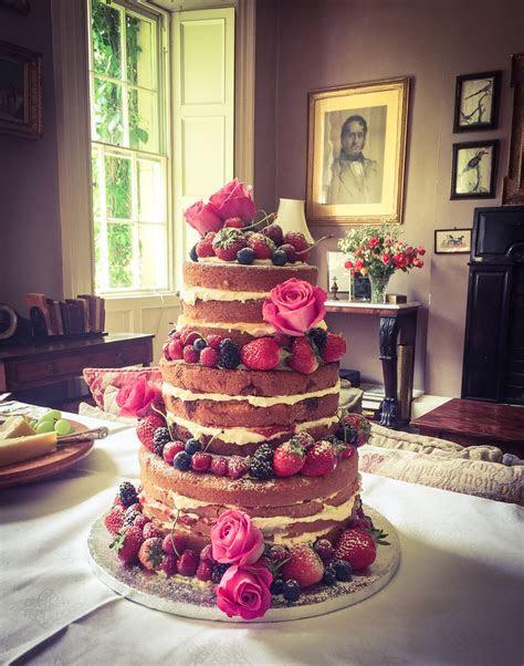 Naked & Semi Naked Wedding Cakes ? Kelly Lou Cakes