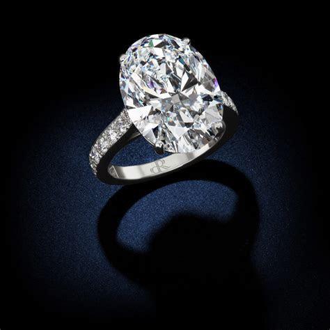 18.88 Carat D Flawless Type IIa Oval Shape Diamond Ring