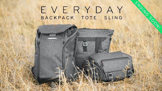 The Everyday Backpack, Tote, and Sling