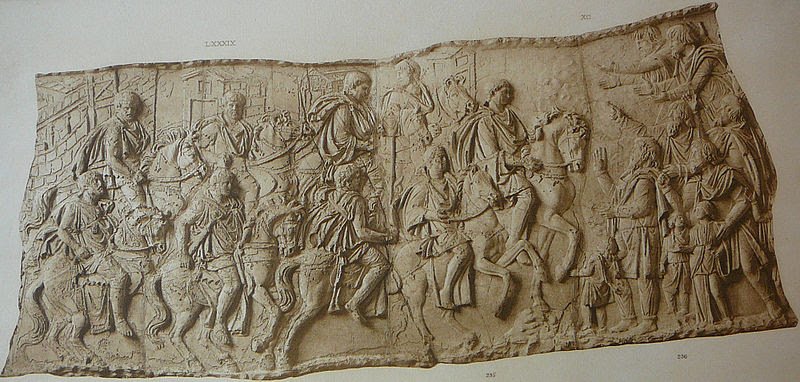 File: 065 Conrad Cichorius, Die Reliefer der Traianssäule, Tafel LXV.jpg