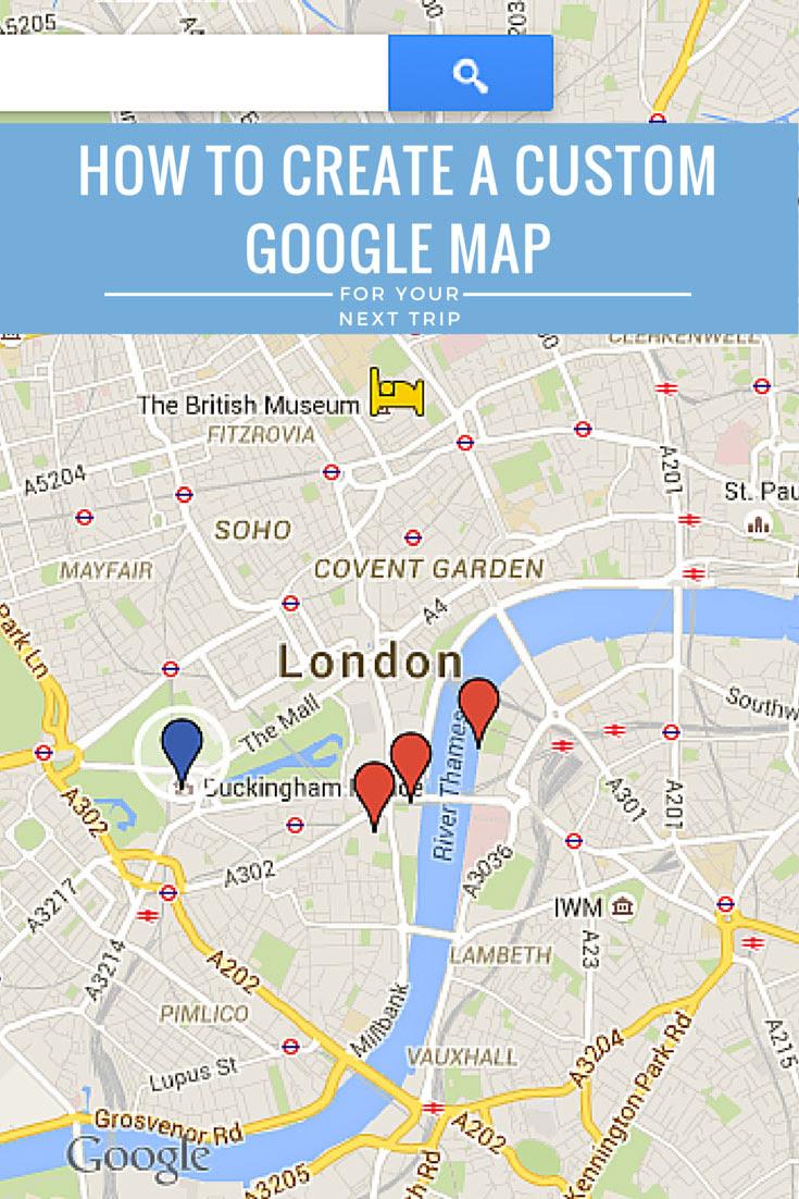 How To Create A Custom Google Maps Itinerary Use It