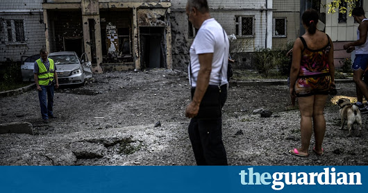 Russia shelled Ukrainians from within its own territory, says study | World news | The Guardian