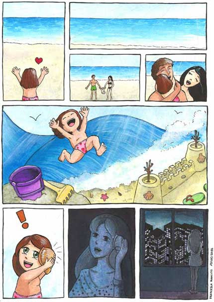 The Shell, comic by Francesca Mancuso, color version