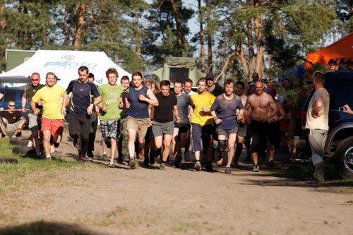 Prvý Motoride Sand RUN 2012 - tesne po štarte