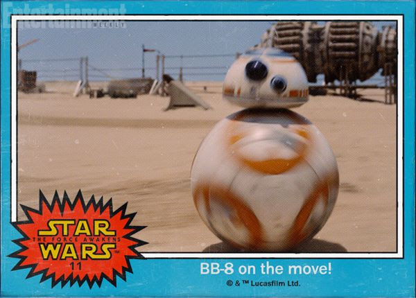 BB-8 is on the move in STAR WARS: THE FORCE AWAKENS.
