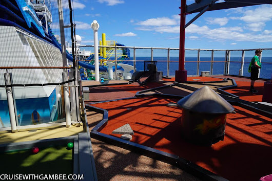 Norwegian Escape Review Chapter 7 - cruise with gambee