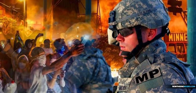 EUA: PENTÁGONO INVOCA A LEI DA INSURREIÇÃO DE 1807 E ORDENA QUE O EXÉRCITO ESTEJA PREPARADO PARA REPRIMIR DISTÚRBIOS FINANCIADOS POR SOROS EM MINNEAPOLIS