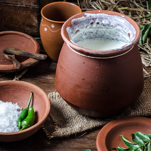 Indian Clay Yogurt Pot | Ancient Cookware