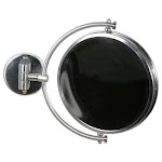 Allied Brass Wm-45x-Orb 8-Inch Mirror With 5x Magnification Extends 7-Inch Oil Rubbed Bronze Allied Brass WM-4/5X-ORB