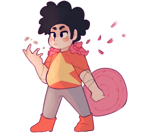 """Anonymous said: 🔪 + Steven Universe Answer: """" 🗡: draw a character as if they were in a rpg/dnd character """" cheated and made him a mix of a bunch but mostly a healer (also im assuming you mean this one..."""