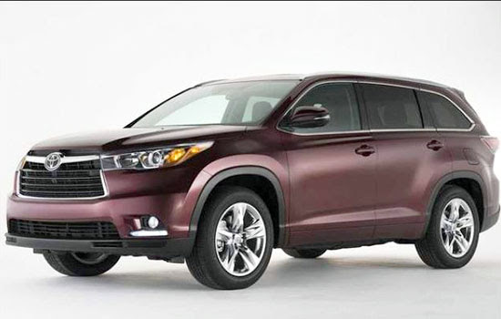 2019 Toyota Highlander Redesign and Release Date | Toyota ...