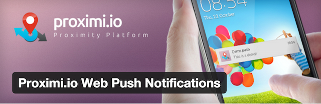 proximi Push notification Plugin