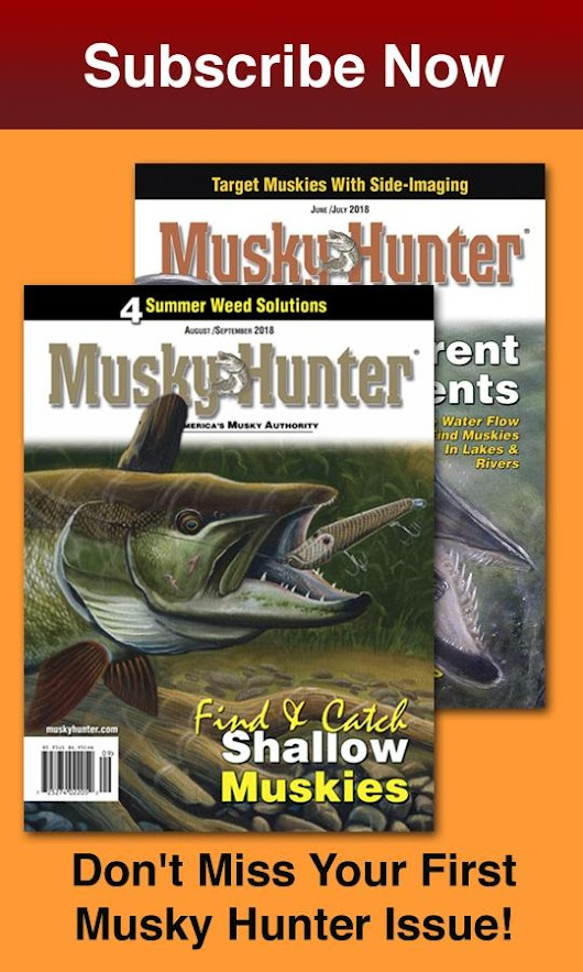 Klesmith Boats Four Muskies To Win National Championship Musky Open - Musky Hunter Magazine