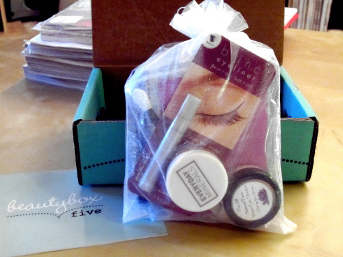 Beauty Box 5 - Product Samples Packaging