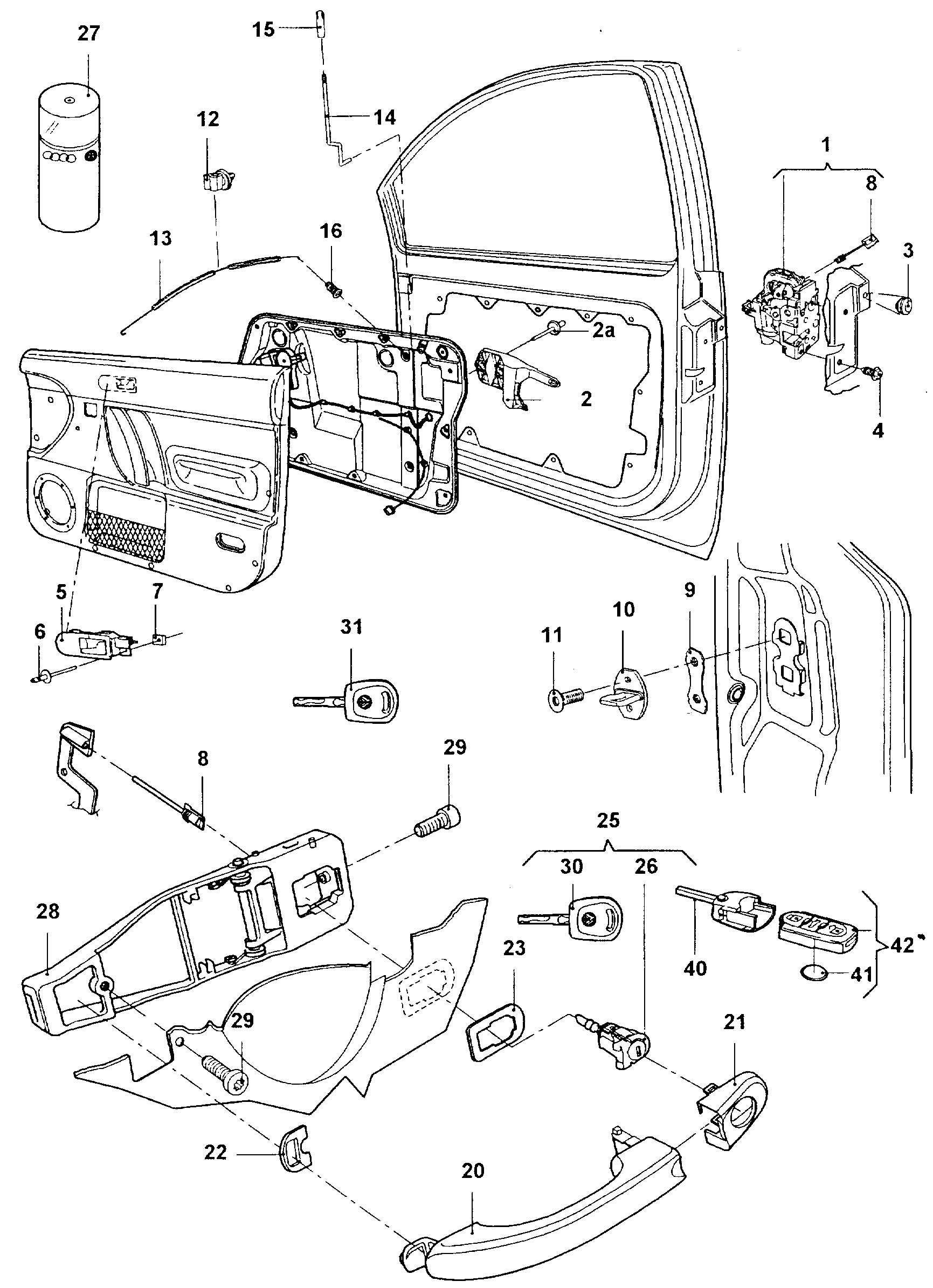 26 2001 Vw Beetle Parts Diagram