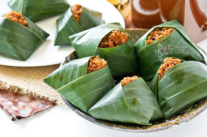Pulut Inti (Glutinous Rice with Sweet Coconut Topping ...