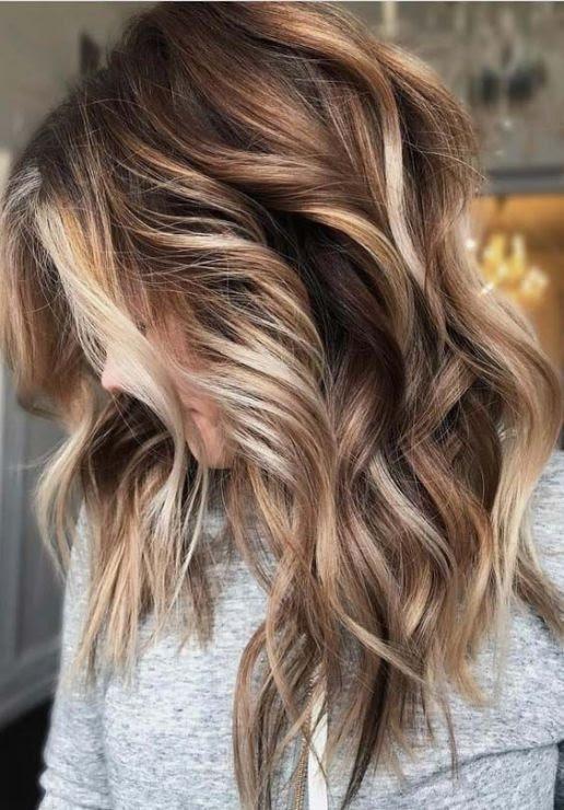 Balayage cheveux mi longs : Top 10 mod\u00e8les pour cet Hiver  Coiffure simple et facile