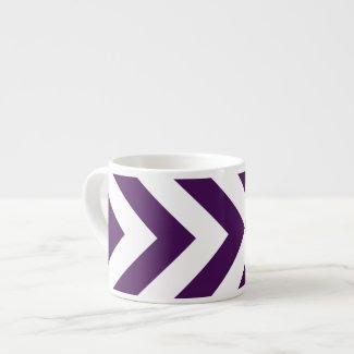 Purple and White Chevrons specialtymug