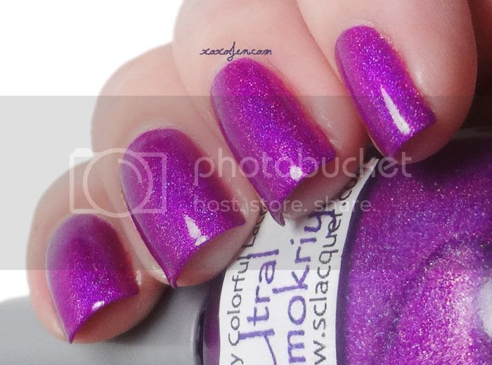 xoxoJen's swatch of Superficially Colorful: Utral Aymokriyä