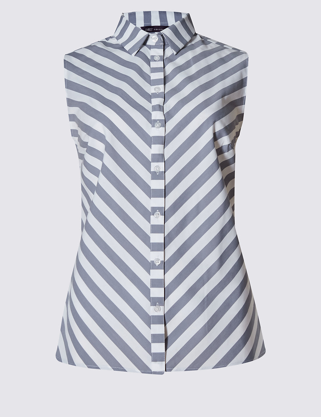 Chevron Striped Shirt