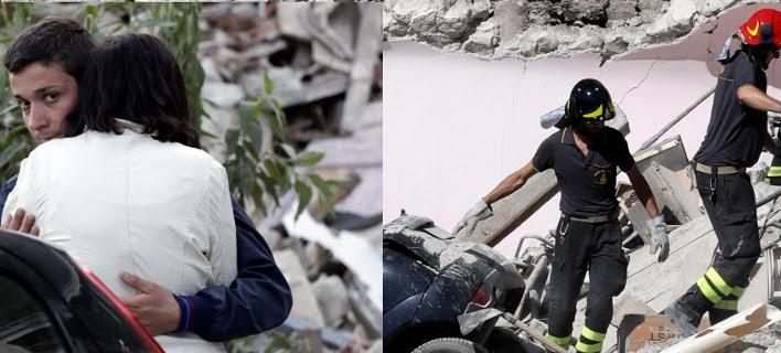 Τραγωδία χωρίς τέλος: Στους 250 οι νεκροί από τον σεισμό στην Ιταλία