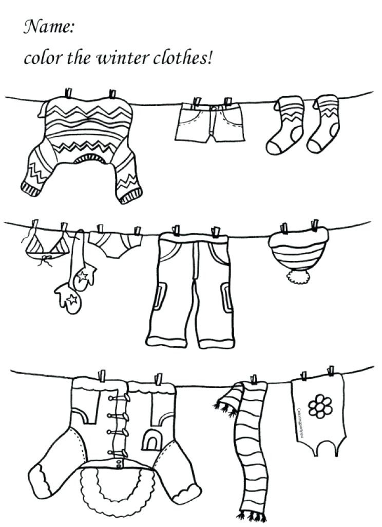 Download Cloth Coloring Pages at GetColorings.com   Free printable colorings pages to print and color
