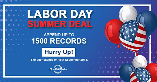Amazing Deals on Labors Day - 2018 Labors Day Offers on Email List
