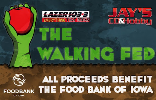 The Walking Fed Presented by Jay's CD & Hobby | LAZER 103.3