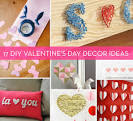 Roundup: 17 DIY Valentine's Day Decor Ideas » Curbly | DIY Design ...