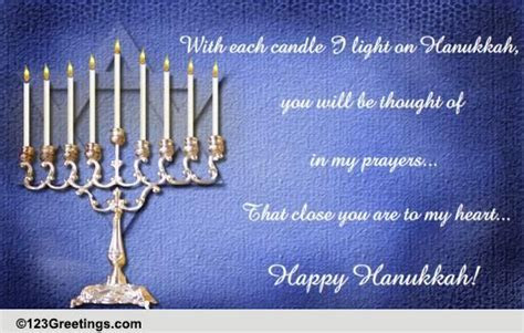 Heartfelt Hanukkah Wishes  Free Happy Hanukkah eCards
