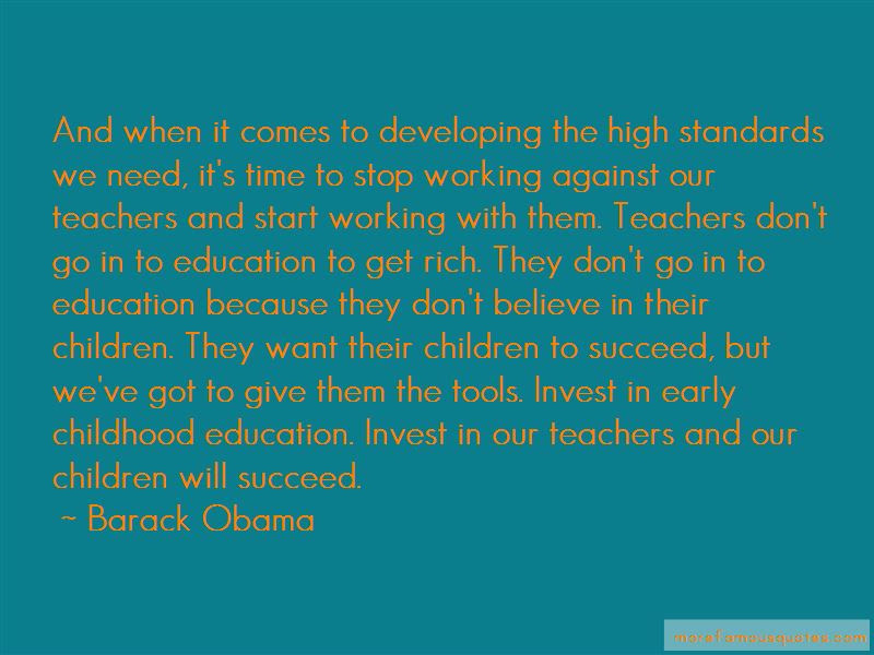 Quotes About Early Childhood Education Top 23 Early Childhood