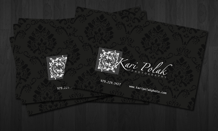 Kari Polak Photography BizCard