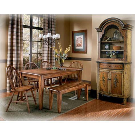 ashley furniture rectangular dining room table