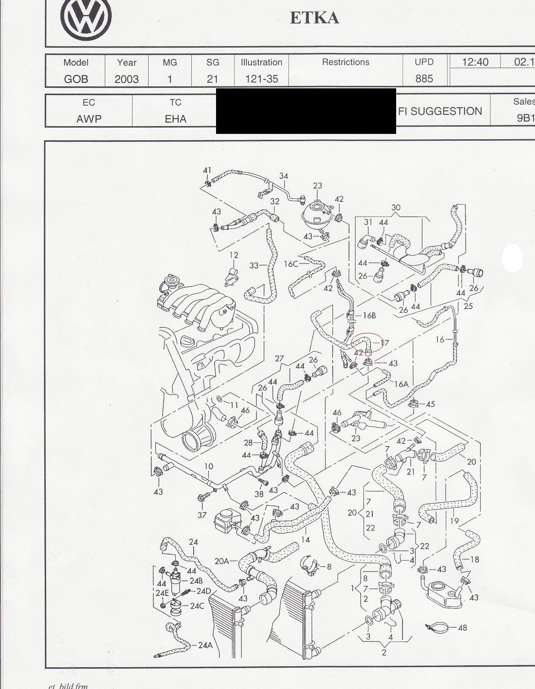 Volkswagen 1 8t Engine Diagram