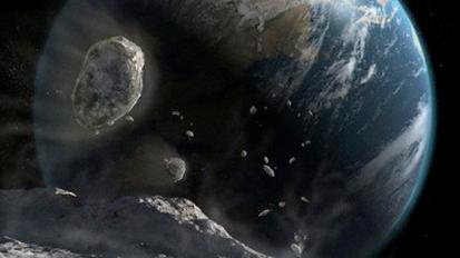 asteroides contra la Tierra
